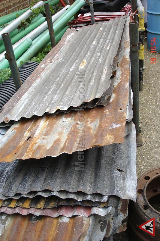 Corrugated Metal Sheets - SHEETS TYPE 1B