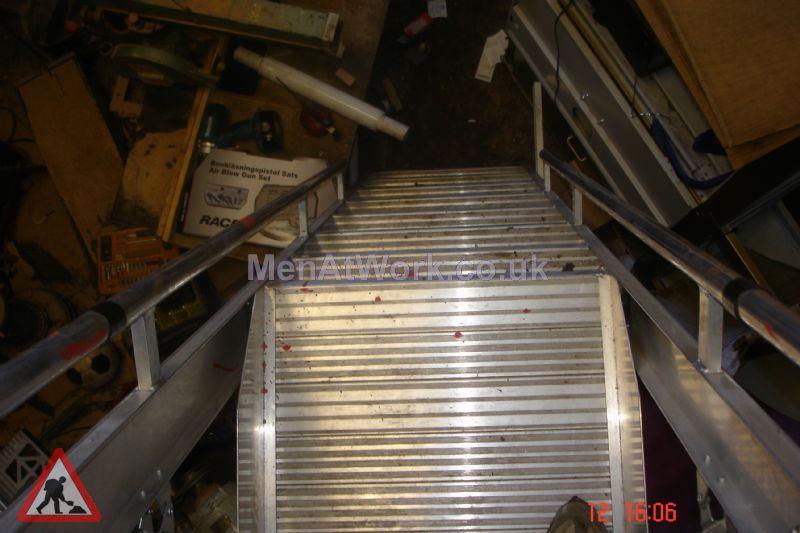 Safety Step Ladder - Safety Steps – Close up