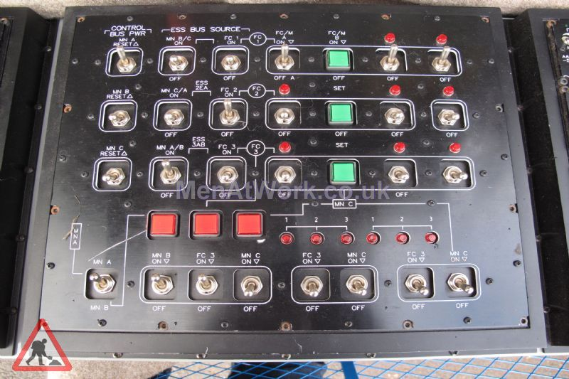 Control Panel - Set of black Control Panels (3)