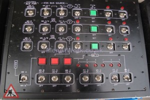 Control Panel - Set of black Control Panels (6)