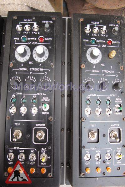 Control Panel - Set of black Control Panels