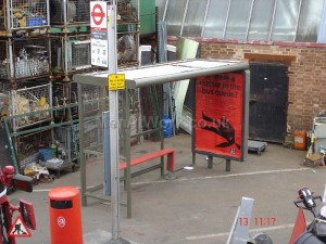 Bus Shelter ,Stop and Bin Advert Size 1200 x 1800 - Shelter, Bus Stp, Seat and Bin