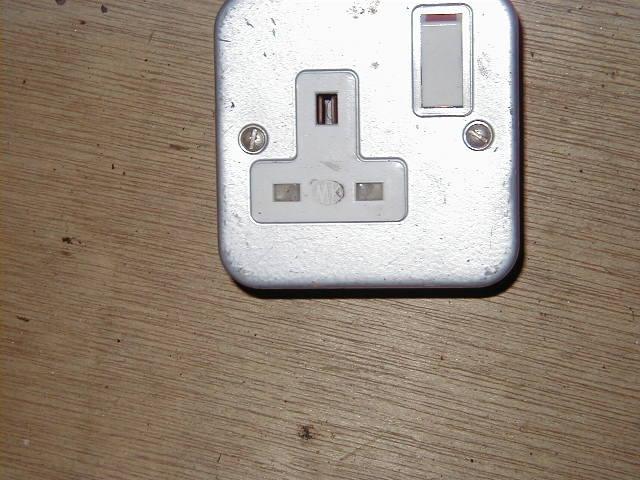 Single Electric Socket - Single Plug socket