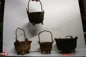 Blacksmith Smelting Pots - Smelting Pots