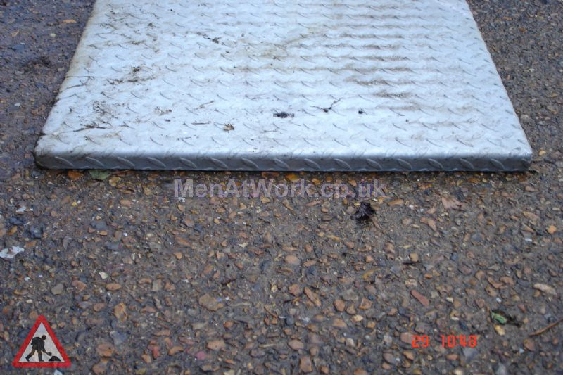 Man hole cover - Square cover 1 side