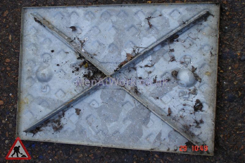Man hole cover - Square cover 2 bottom