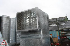 Square Ducting - Square ducting and end (2)