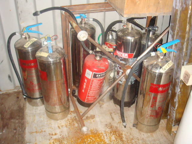 Stainless Steel Extinguisher - Stainless Extinguishers
