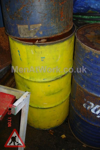 Steel Barrels - Yellow