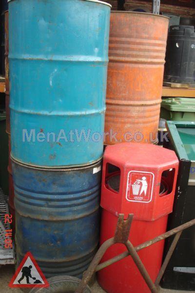 Steel Barrels - Blue / Orange