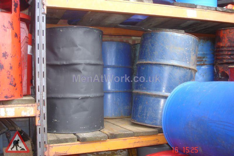 Steel Barrels - Blue