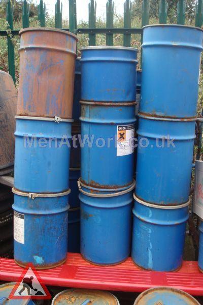 Steel Barrels - Blue Steel Barrel
