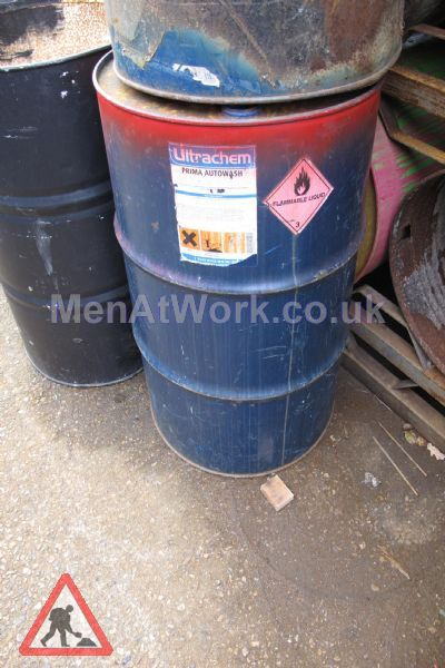 Steel Barrels - Flammable
