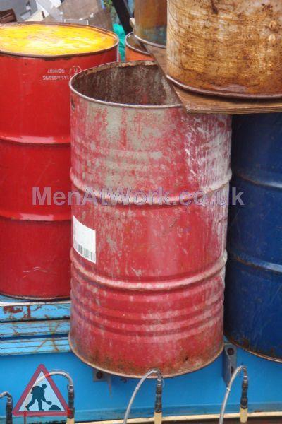 Steel Barrels - Red