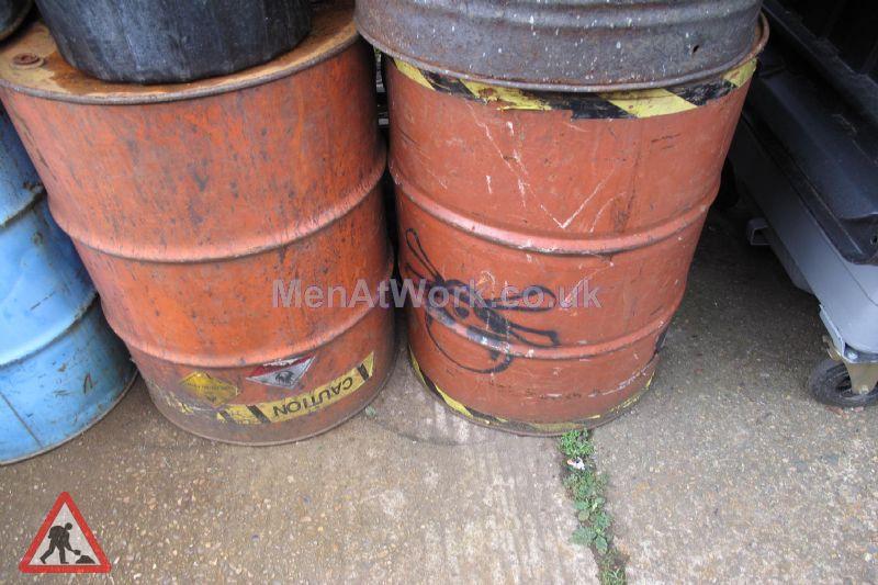 Steel Barrels - Hazard