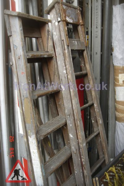 Wooden Step Ladders Various Sizes - Step ladders – wooden