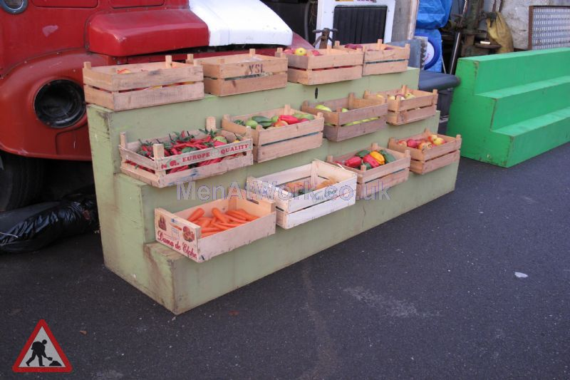 Market Stall - Stepped display (3)