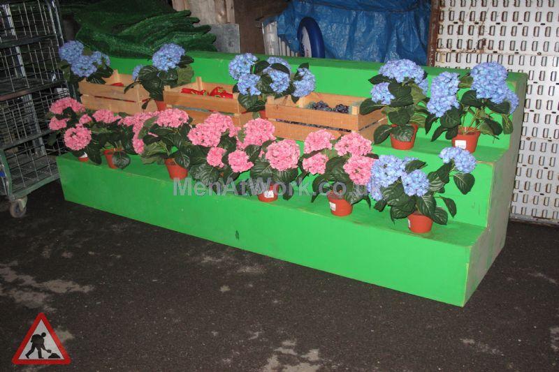 Flower market display - Stepped display (6)