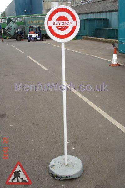 Temporary Bus Stop - Temporary Bus stop