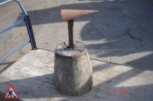 Blacksmith Timber Block - Timber Block With Dolly