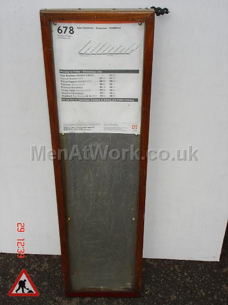 Timber Frame Timetable - Timber Frame Timetable 1