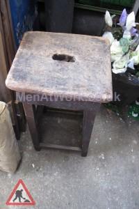 Timber Stool - Timber stool