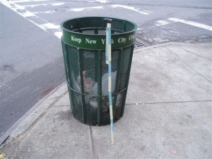 Trash Can - Keep New York City Clean