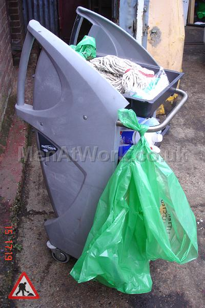 Cleaning Trolley - Side View