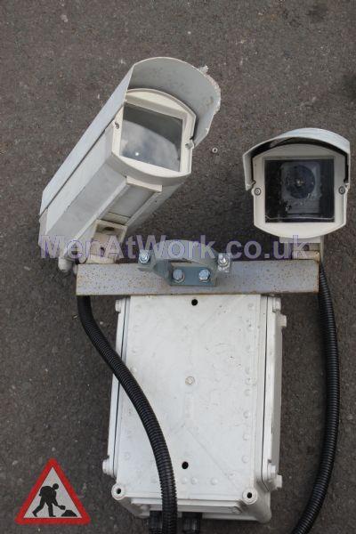 CCTV Twin Cameras - Close up