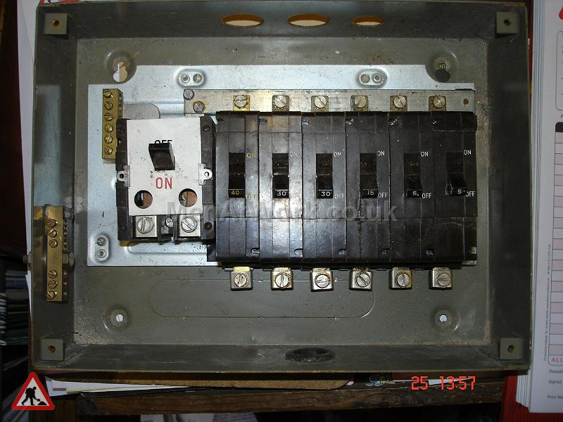Electrical Unit with Cover - UNIT WITH FRONT COVER OFF