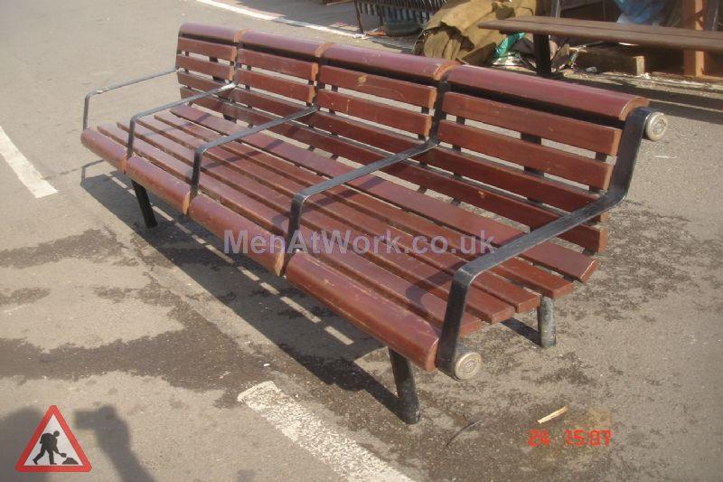 Platform Seating - Underground Style