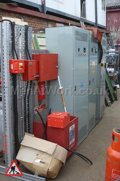 Underground- electrical boxes - Underground-control: electrical boxes