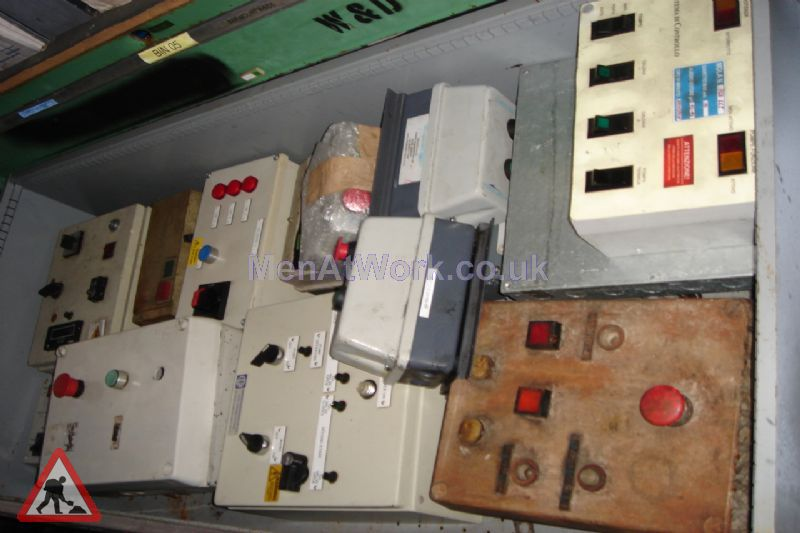 Various Electrical Switch Boxes - Various Electric Switch Boxes (3)