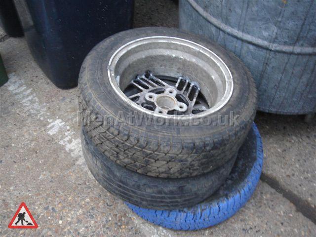 Car Tyres - Various Garage Props (7)