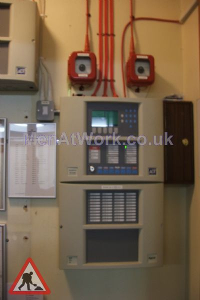 Wall Mounted Fire Control Unit - Wall Mounted Fire Control