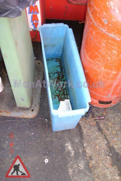 Wide Shaped Bucket - Wide Bucket Blue
