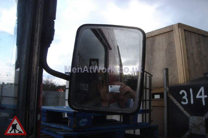 Bus Wing Mirror And Arms - Wing Mirror Front