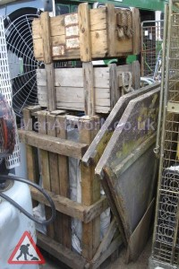 Crates-various sizes- rope handles - Wooden Crates