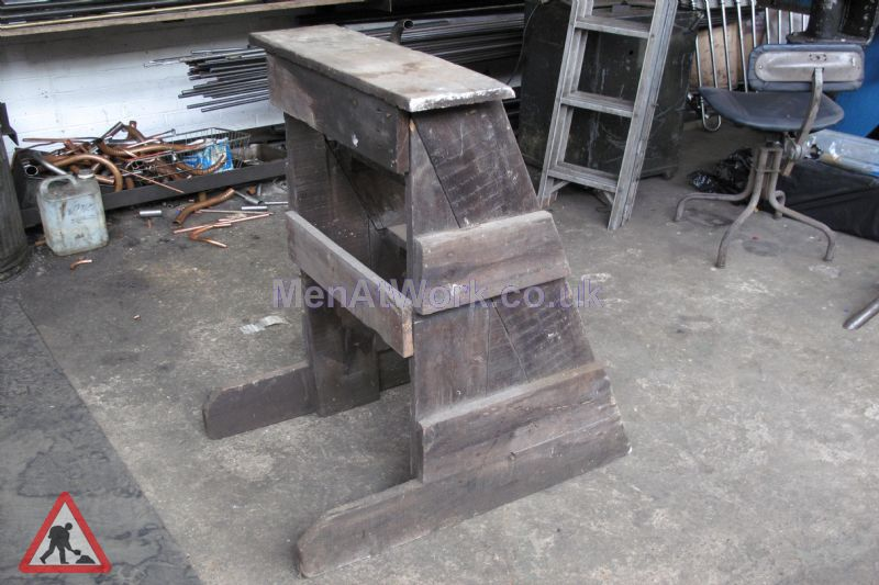 Wooden Box Steps - Wooden Horse Step