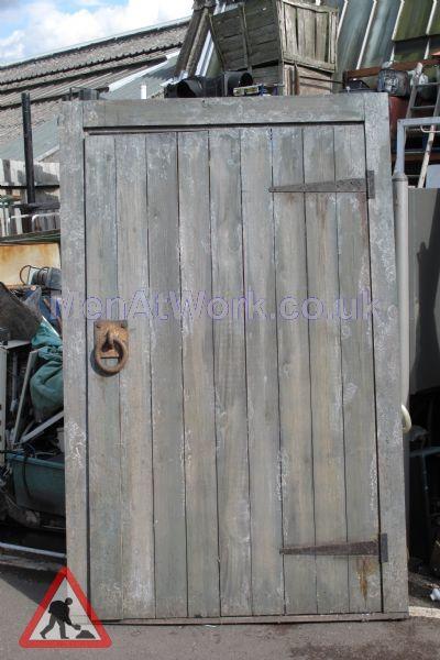 Wooden shed door - Wooden shed door