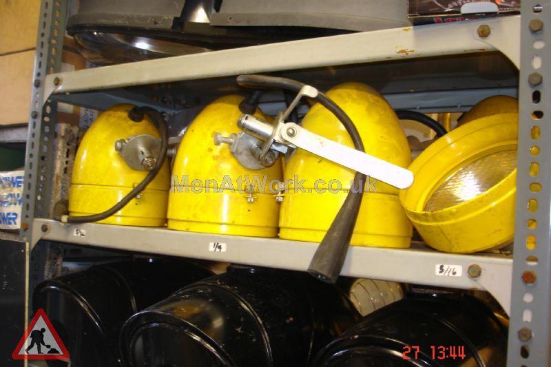 Yellow Factory Lights - Yellow factory light