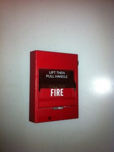 Fire Alarm Switch American - Pull Handle