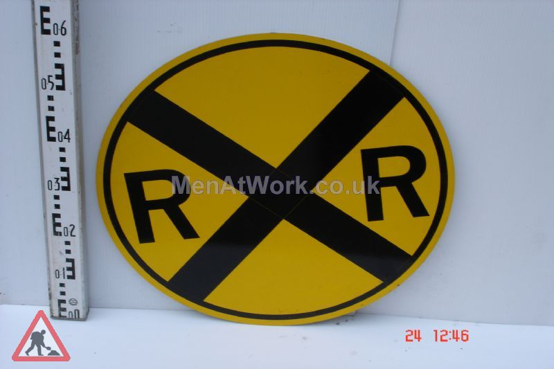 American Street Signs Yellow - R R