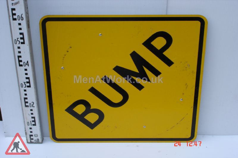 American Street Signs Yellow - Bump