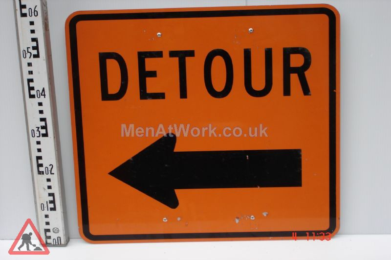 American Street Signs - Detour