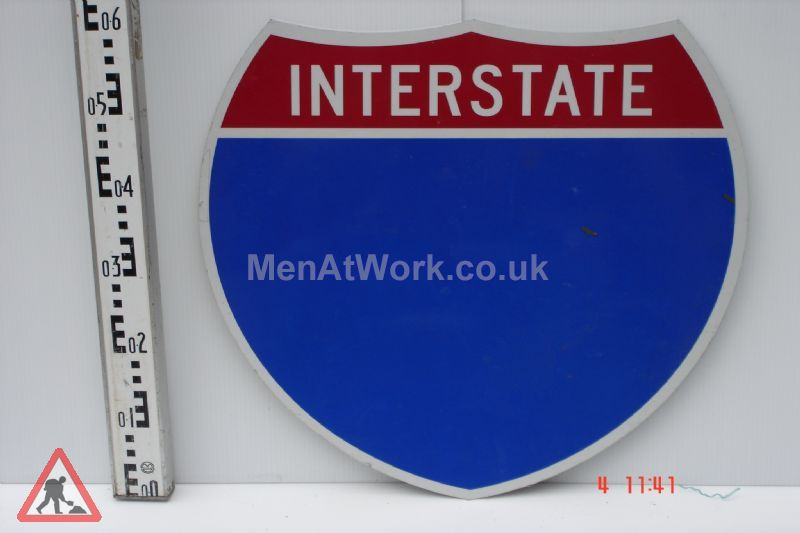 American Street Signs - Interstate