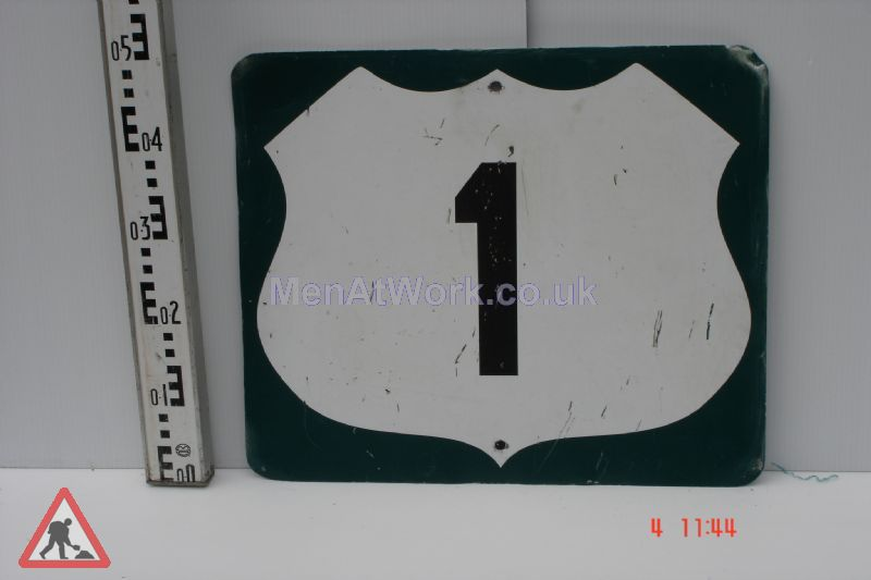 American Street Signs - Route 1