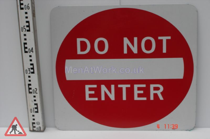 American Street Signs - Do Not Enter