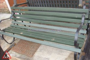Standard Park Bench - benches