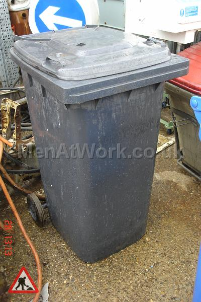 Domestic wheelie bin – black - domestic wheelie bin (12)